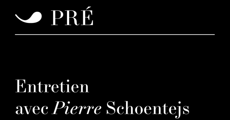 Entretien avec Pierre Schoentjes par Lucile Schmid