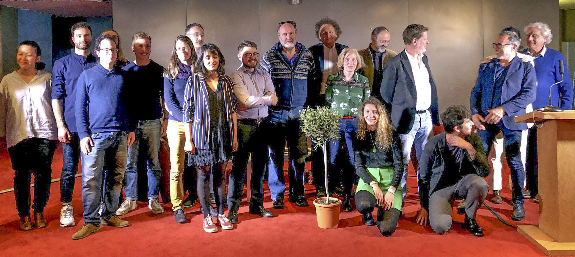Jury et lauréat du prix du roman d'écologie 2019